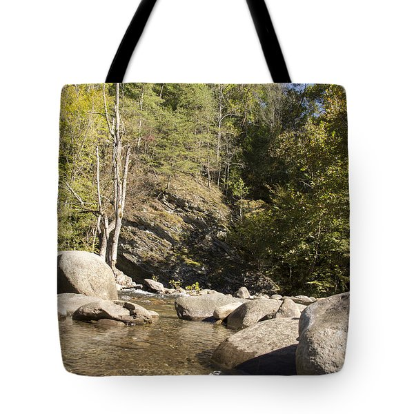 Clear Water Stream Tote Bag