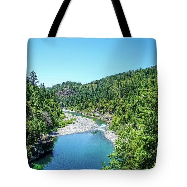 Clear Waters Tote Bag by Ric Schafer