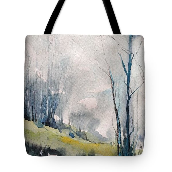 Clearing By The Riverbank Tote Bag