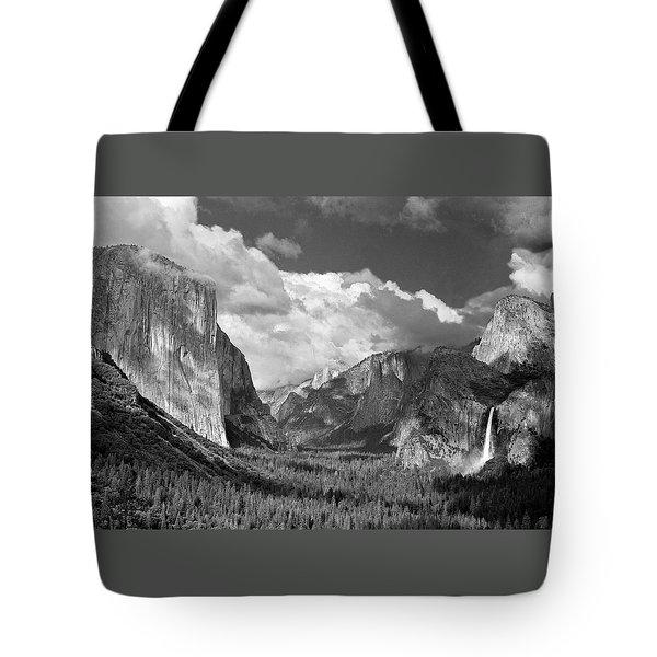 Clearing Skies Yosemite Valley Tote Bag