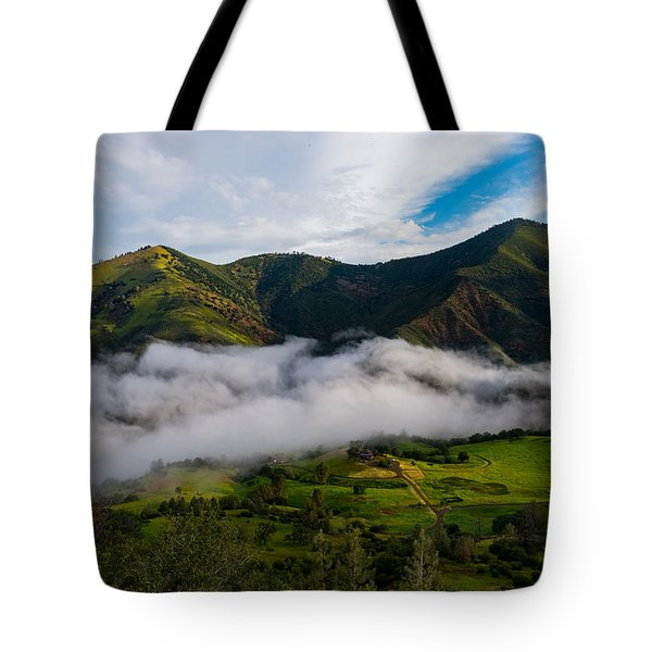 Clearing Storm, Figueroa Mountain Tote Bag