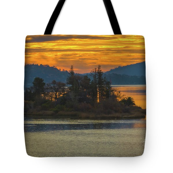 Clearlake Gold Tote Bag