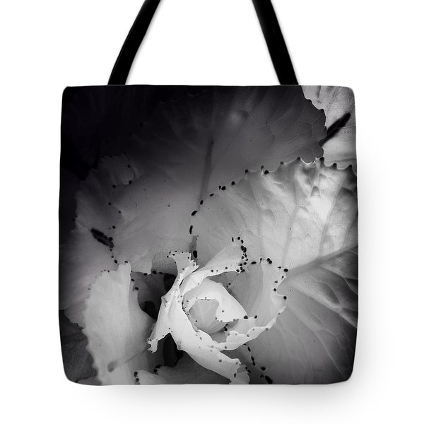Clearly Bloomed Tote Bag