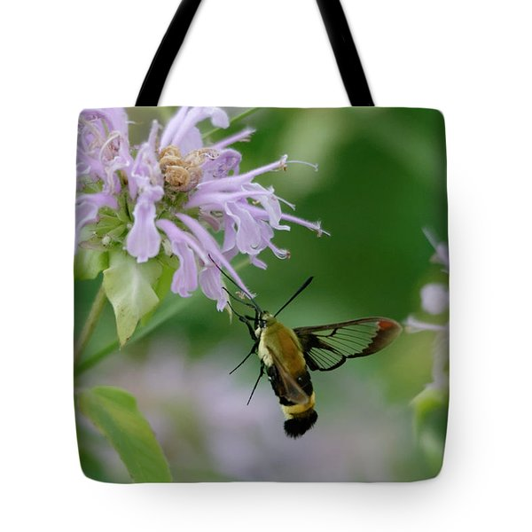 Clearwing Moth Tote Bag