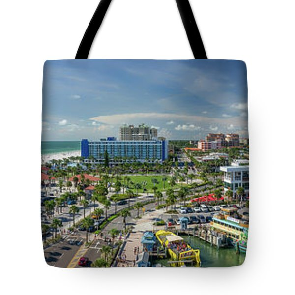 Tote Bag featuring the photograph Clearwater Beach Florida by Steven Sparks