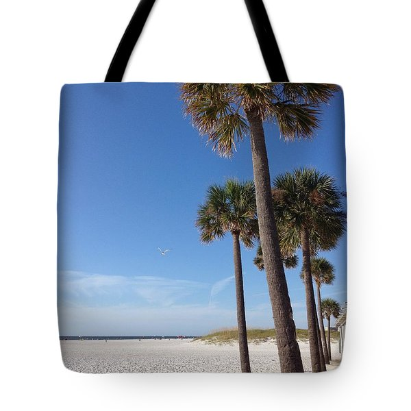 Clearwater Palms Tote Bag