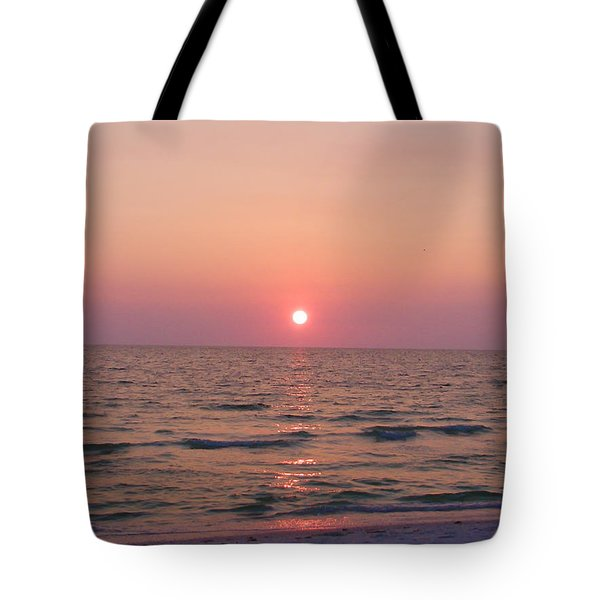 Clearwater Sunset Tote Bag by Bill Cannon