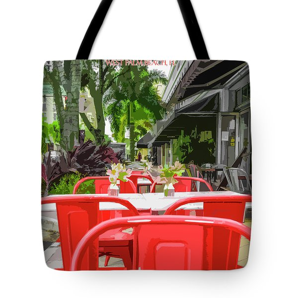 Clematis By Day Tote Bag