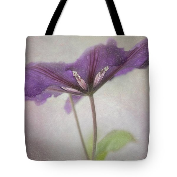 Clematis Eyes Tote Bag