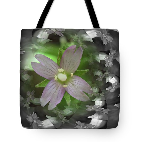 Tote Bag featuring the photograph Clematis by Keith Elliott
