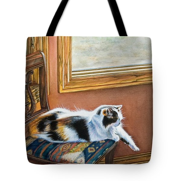 Cleo In The Sun Tote Bag