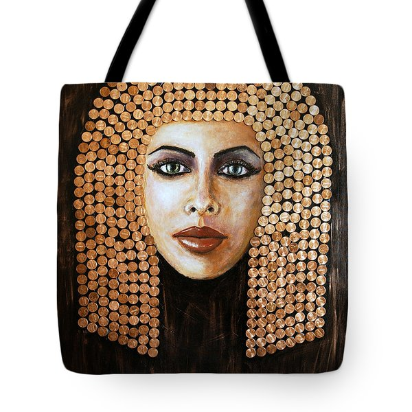 Cleopatra Tote Bag by Arturas Slapsys