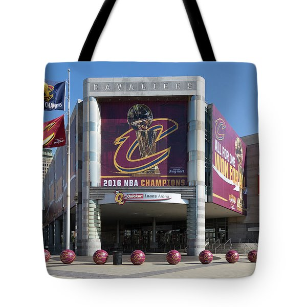 Cleveland Cavaliers The Q Tote Bag