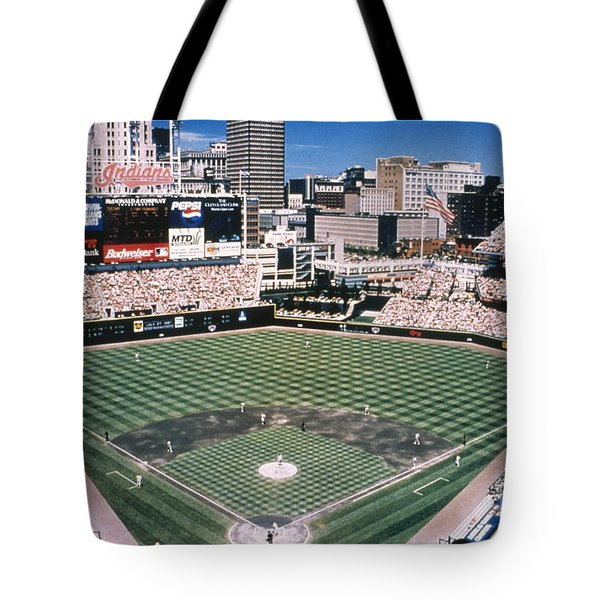 Cleveland: Jacobs Field Tote Bag by Granger
