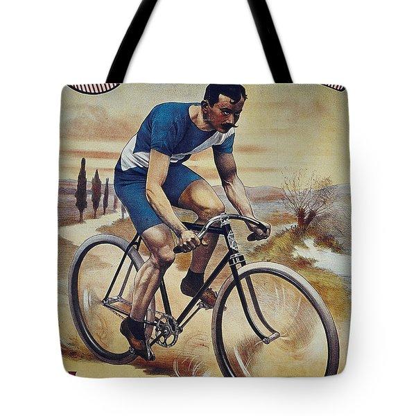 Cleveland Lesna Cleveland Gagnant Bordeaux Paris 1901 Vintage Cycle Poster Tote Bag