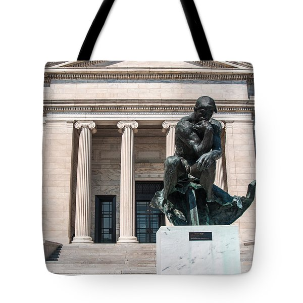 Cleveland Museum Of Art, The Thinker Tote Bag