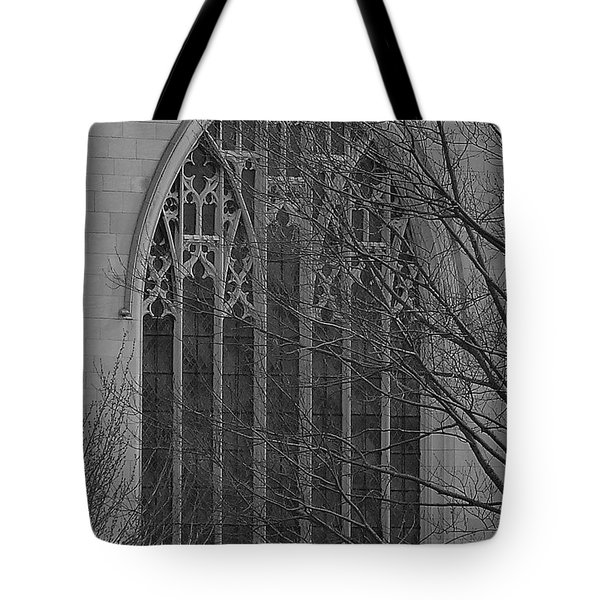 Cleveland Ohio Church Window Tote Bag
