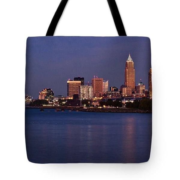 Cleveland Ohio Tote Bag by Dale Kincaid