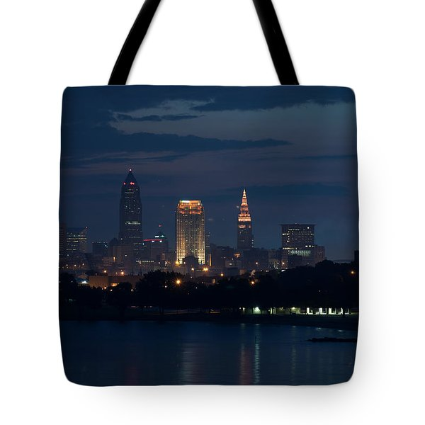Cleveland Reflections Tote Bag