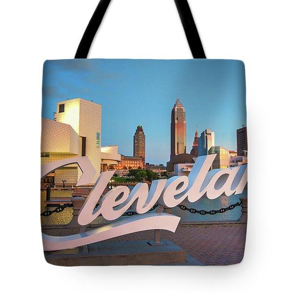 Cleveland's North Coast Tote Bag
