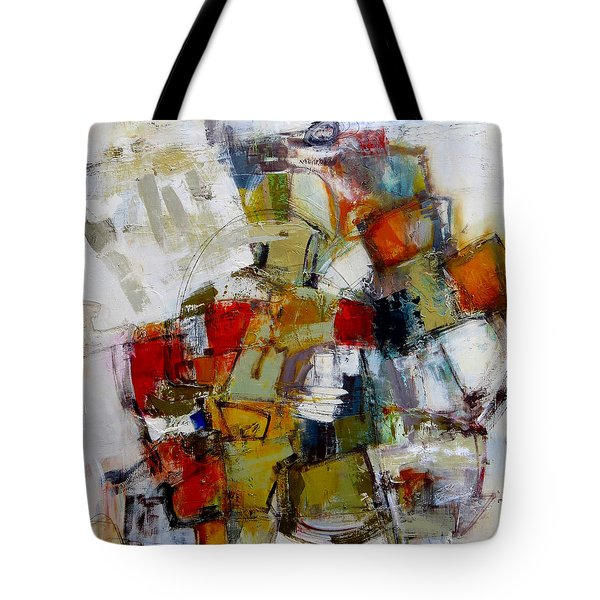 Tote Bag featuring the painting Clever Clogs by Katie Black