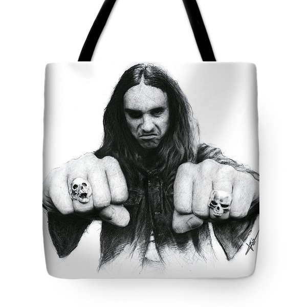 Cliff Burton Tote Bag