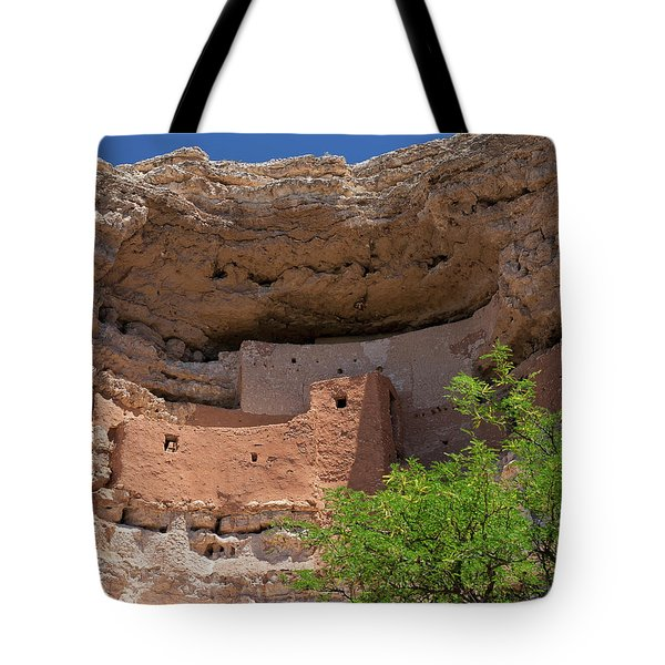Cliff Dwellings Tote Bag