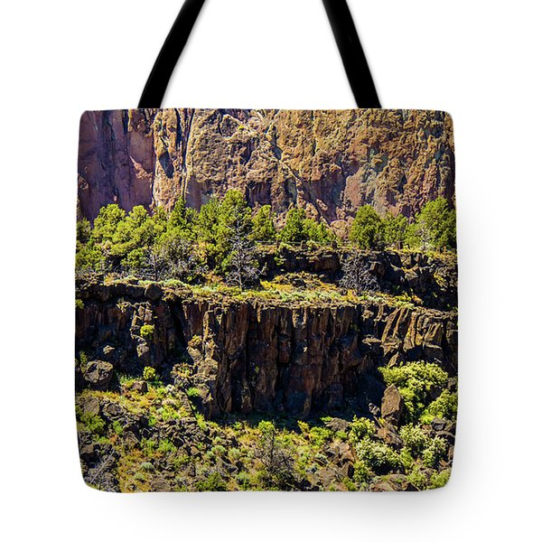 Tote Bag featuring the photograph Cliff Edge by Jonny D