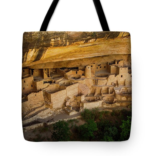 Cliff House From Above Tote Bag