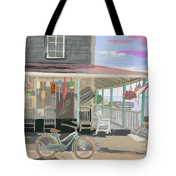 Cliff Island Store 2017 Tote Bag