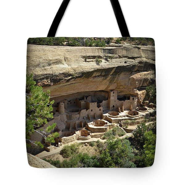 Cliff Palace Tote Bag
