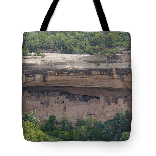 Cliff Palace Mesa Verde Tote Bag