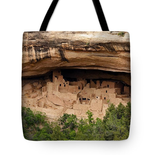 Cliff Palace Overlook Tote Bag