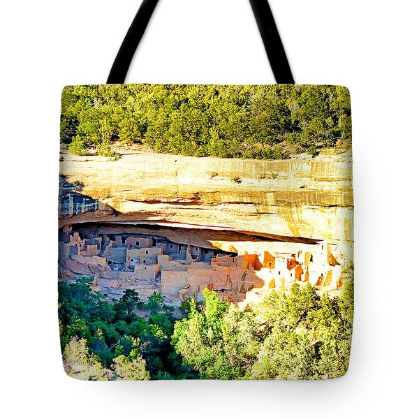 Cliff Palace Study 1 Tote Bag