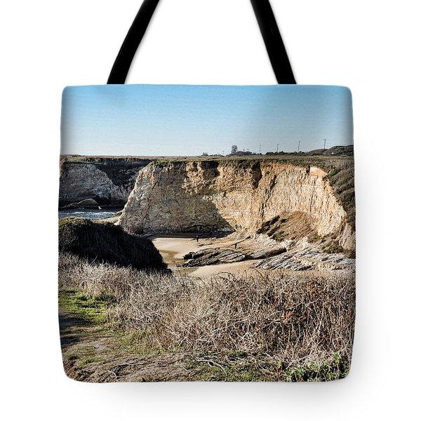 Cliff Top Tote Bag