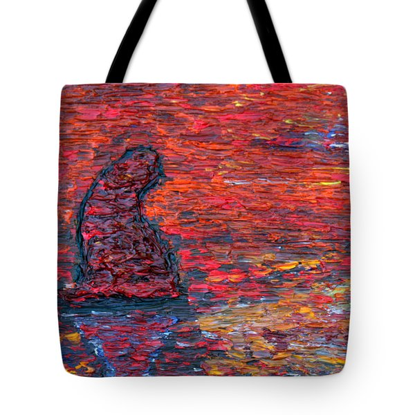 Cliff Tote Bag by Vadim Levin