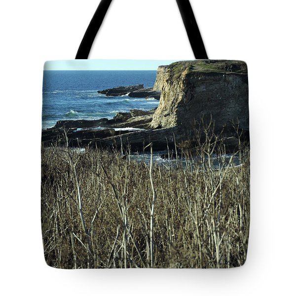 Cliff View Tote Bag