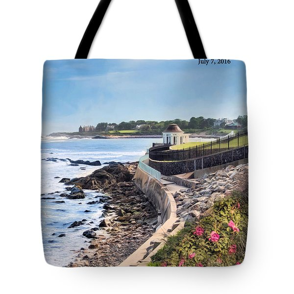 Cliff Walk Tote Bag