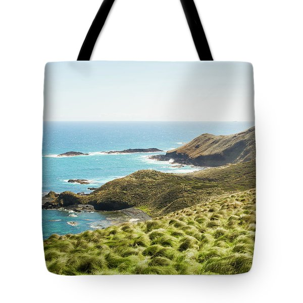 Cliffs And Capes Tote Bag