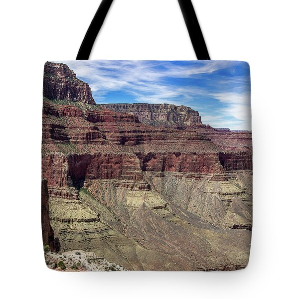 Cliffs In The Grand Canyon Tote Bag