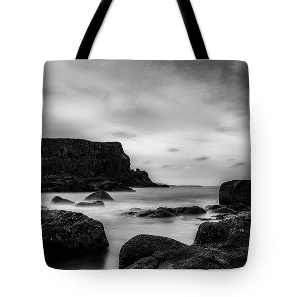 Cliffs Near Causeway Tote Bag