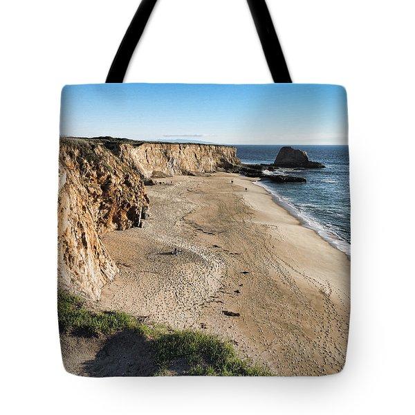 Cliffs Of Davenport Tote Bag