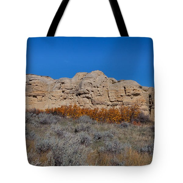 Tote Bag featuring the photograph Cliffs Of Hoodoos by Fran Riley