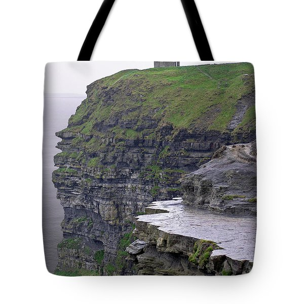 Cliffs Of Moher Ireland Tote Bag by Charles Harden