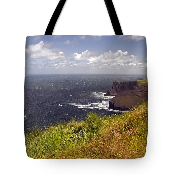 Cliffs Of Moher  Hags Head Side Tote Bag
