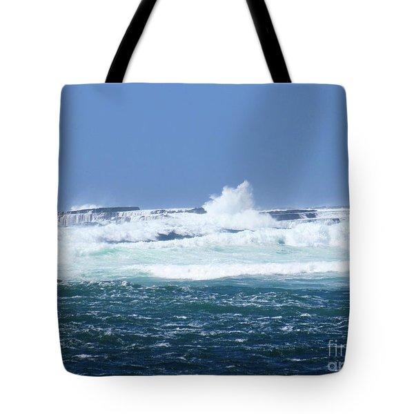 Cliffs Of The Aran Islands 2 Tote Bag