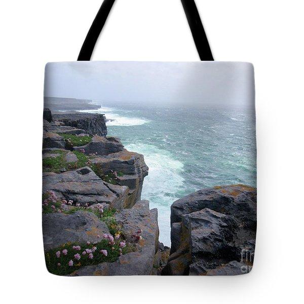 Cliffs Of The Aran Islands 4 Tote Bag