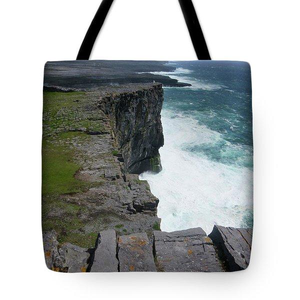 Cliffs Of The Aran Islands 5 Tote Bag