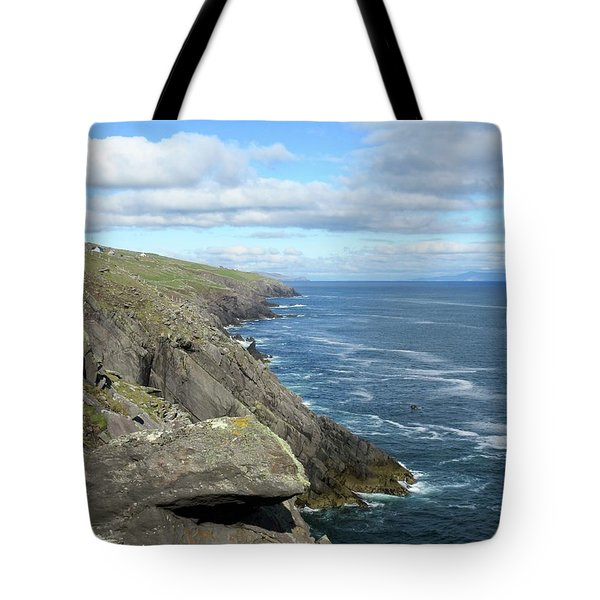 Cliffs Of The Aran Islands Tote Bag