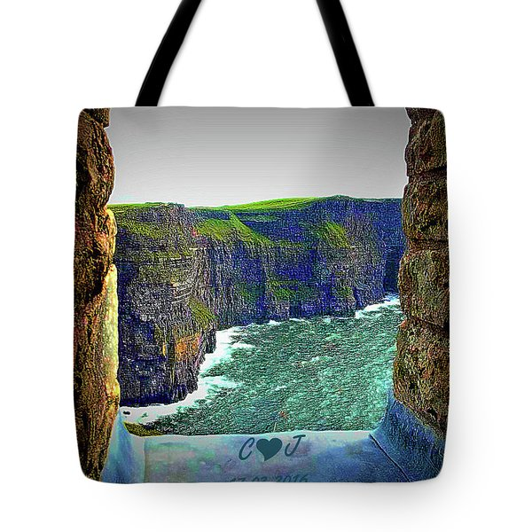 Cliffs Personalized Tote Bag